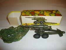 FRENCH DINKY 802 OBUSIER ABS 155MM GUN - VN MINT in original BOX