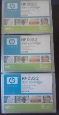 Lote 5 x DAT HP DDS2 C5707A Data Cartridge 8 GB