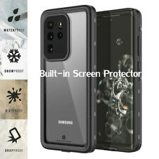 For Samsung Galaxy S20 Plus Ultra 5G IP68 Waterproof 360° Full Body Case Cover