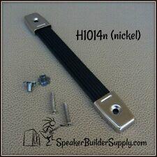 speaker cabinet/amp strap handle-Nickel end caps!
