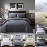 Luxury Bedding Set Duvet Cover Set Poly Cotton Single Double King Super Size New