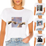 Womens Tops Michelangelo Artworks Girls Short Sleeve T Shirt Funny New 2020