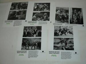 LOT 5 TEENAGE MUTANT NINJA TURTLES II The SECRET of the OOZE PROMO MOVIE PHOTOS