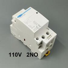 TOCT1 2P 63A 2NO 110V coil 50/60HZ Din rail Household ac modular contactor