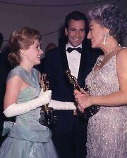 Joan Crawford, Patty Duke & Maximilian Schell 1963 Oscars movie star 8x10 photo