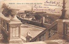 B3881 Italy Perugia Chiesa di S Pietro vista dai Giradini 1913  front/back scan