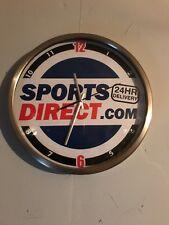 Sports Direct Wall Clock