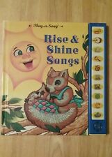 Play-A-Song - Rise and Shine - 1994 - First Edition - Hardback