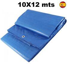 Toldo Lona Cubierta protector de 10X12 Mts POLIETILENO Impermeable reforzado