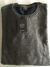 NEW Paul & Shark Yachting Jacket Blusotto Sweater Lupetto 4XL DARK GREY