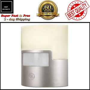 Plug In Motion Activated Detector Sensor LED Indoor Night Light Electrical Home