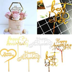 Torte Cake Muffin + Toppers Attachment Happy Birthday Birthday Deko-Decoration🔥
