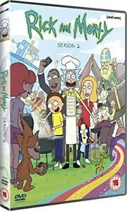 Rick And Morty - Complete Series 2 - DVD - Brand New And Sealed (UK Release)