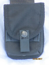 MOD Police Pouch Ammunition, schwarze Magazintasche, datiert 2001