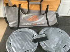 Bike travel bag - Polaris (with wheel covers)