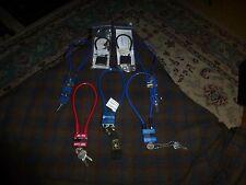 Beretta Mossberg Marlin Mascon Master Pistol Gun Safety Cable Lock Lot Of 7 Vg !