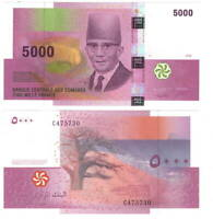 COMOROS 5000 FRANCS 2006 P-18 UNC - Banknotes Paper Money