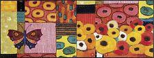 wash+dry Fußmatte Colourful Moment, 75 x 190 cm waschbarer Teppich/Läufer