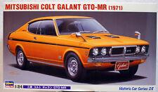 1971 Mitsubishi Colt Galant GTO-MR Dodge Colt 1:24 Hasegawa 21128 neu 2018