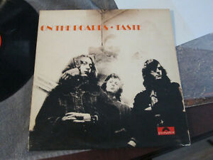 Taste - On The Boards LP - polydor 583083 stereo UK -plays vg+ to vg++