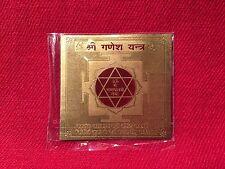 Shri Ganpati Ganesha Yantra Yantram Chakra Shree Ganesh Energised Hindu