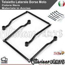 Staffe di montaggio for borse laterali in ferro for moto universali Supporto for accessori moto Staffe for borse laterali for motociclette
