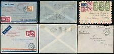 FRENCH INDOCHINA 1934-51 AIRMAILS...4 COVERS
