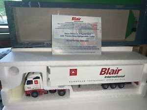 Lion Toys 1.50 Volvo Fh12 With Thermo King Fridge Trailer Blair 016/200 New