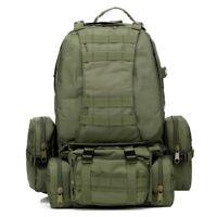 55L 3D molle militaire tactique sac a dos sac de randonnee sac a dos pour c I4O5