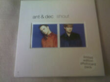 ANT & DEC - SHOUT - 4 TRACK CD SINGLE & PHOTOCARDS