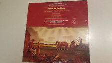 Angel Virgil Thomson Music For The Films The Plow That Broke The Plains LP