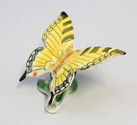9942271 Porzellan Schmetterling gelb Schwalbenschwanz Wagner & Apel 8x7cm