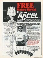 1981 Accel Distributor & Spark Plugs New York Yankees Reggie Jackson T-shirt Ad