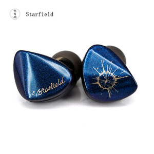 New Arrival Moondrop Starfield In-ear Earphone 0.78 2 pin With Detachable Cable