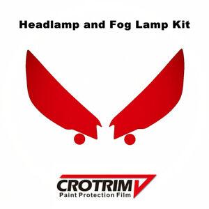Paint Protection Film Headlight & Fog Light Kit For Subaru Forester 2019-2021