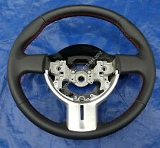 Scion FR-S & Subaru BRZ Leather Sport Steering Wheel w/Red Stitches Fits 13-16
