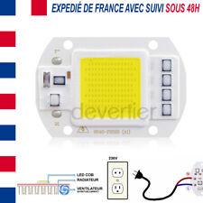 LED COB HIGH POWER 50W 4000 LUMENS BLANC FROID ALIM DIRECT 220V DRIVER INTEGRE