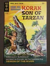 Korak Son Of Tarzan #20 Gold Key Comics