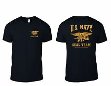 U.S. NAVY SEAL TEAM T-Shirt The Only Easy Day Was Yesterday  B/Y  T-SHIRT