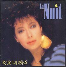 ROSE LAURENS LA NUIT + TITRE YVES SIMON 45T SP 1986 FLARENASCH 721.863 NEUF MINT