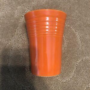 Vintage Fiesta Ware Genuine Water Tumbler Orange