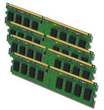 PC Arbeitsspeicher RAM 4x 1GB DDR2 667MHz PC2-5300 SDRAM 240-pol. DIMM