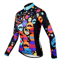 ILPALADINO Bike jersey Long Winter Pro Women Team Cycling clothing Long Sleeve
