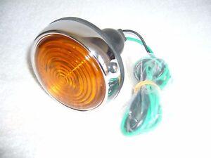 Jaguar Classic car parts- Lucas  L 563 Flasher Lamp,Amber Glass Lens