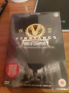 WWE - VENGEANCE 2007 (DVD, 2008) limited edition bonus art New and sealed.