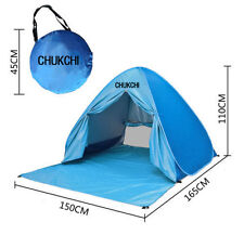 Portable-Pop-Up-Beach-Canopy-Sun-Shade-Shelter-Outdoor-Camping-Fishing-Tent-Blue