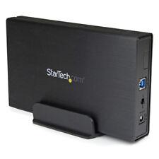 Cabina de StarTech S3510BMU33 disco duro externo de 3,5 pulgadas - negro
