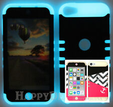 For Apple iPod Touch iTouch 5 | 6 KoolKase Hybrid Cover Case - Chevron Anchor 60
