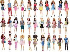 "BARBIE + Ken Lot of 38 dolls  "" Fashionista ""  NRFB 2015 - 2016"