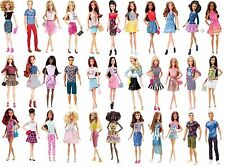 "BARBIE + Ken Lot of 39 dolls  "" Fashionista ""  NRFB 2015 - 2016"